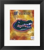 Framed University of Florida Gators 2008 Logo