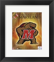 Framed University of Maryland 2008 Logo