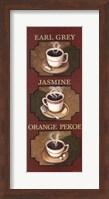 Framed Tea Triptych
