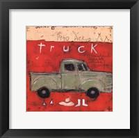 1940 Pickup Framed Print