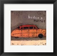Framed Hudson Hornet