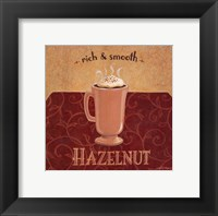 Hazelnut Coffee Framed Print