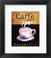 Framed Caffe Cappuccino