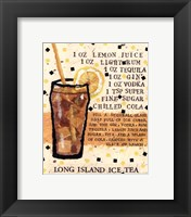 Framed Long Island Iced Tea