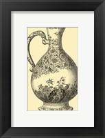 Framed Delft Pottery I