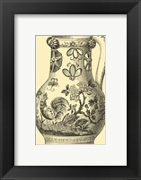 Framed Delft Pottery II