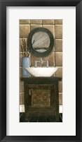Framed Modern Bath Panel III