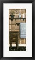 Framed Modern Bath Panel IV
