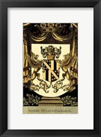 Framed Family Crest I
