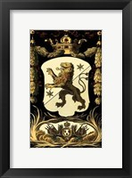 Framed Family Crest III
