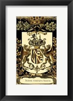 Framed Family Crest IV