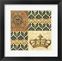 Framed Regal Heraldry I