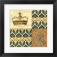 Framed Regal Heraldry II