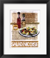 Framed Salad Nicoise