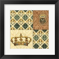 Framed Regal Heraldry IV