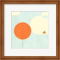 Framed Citrus Grove I