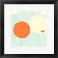 Framed Citrus Grove I