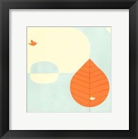 Framed Citrus Grove II
