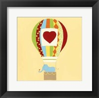 Up, Up and Away III Framed Print