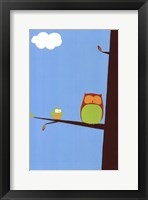 Framed Tree-top Owls II