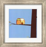 Framed Tree-top Owls IV