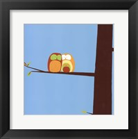 Framed Tree-top Owls IV