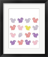 Framed Animal Sudoku in Pink VI