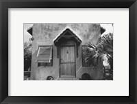 Framed Bermuda Hideaway
