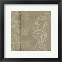 Ornamental Element IV Framed Print