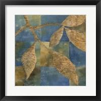 Burnished Branch I Framed Print