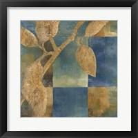 Burnished Branch III Framed Print