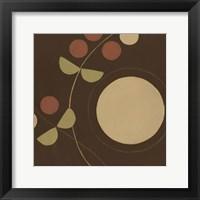 Autumn Orbit I Framed Print