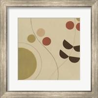 Framed Autumn Orbit III