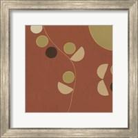 Framed Autumn Orbit V