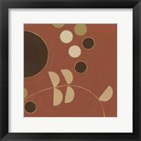 Autumn Orbit VI Framed Print