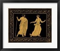 Framed Etruscan Scene I