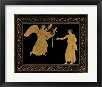 Framed Etruscan Scene III