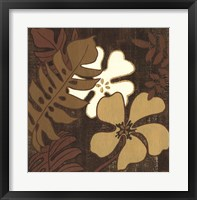 Framed Calypso Floral I