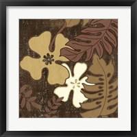 Framed Calypso Floral II