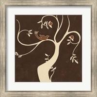 Framed Willow Fresco I