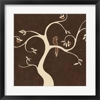 Framed Willow Fresco II