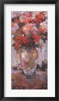Framed Le Vase Blanc
