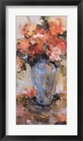 Framed Le Vase Bleu