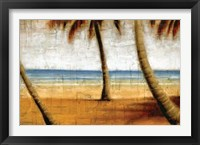 Framed Beach Scene I