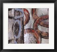 Framed Retro Abstract III