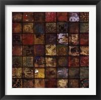 Baroque Collage I Framed Print