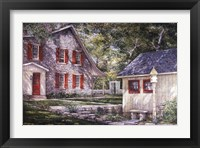 The Shade Garden Framed Print