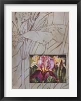 Framed Fleur De Fleur I