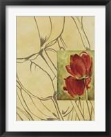 Framed Fleur De Fleur II