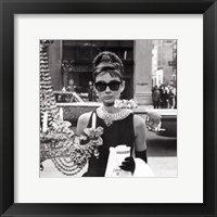Framed Audrey Hepburn (Window)